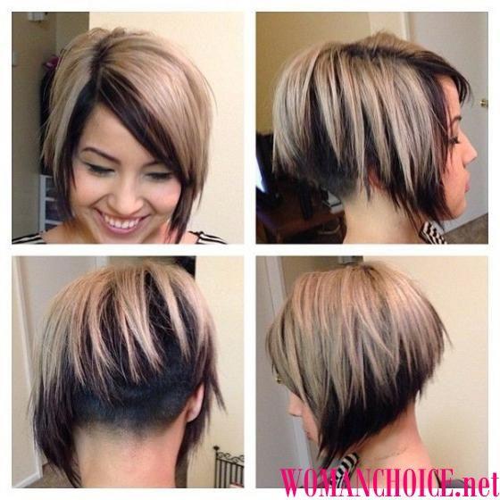 Мелирование волос для коротких волос