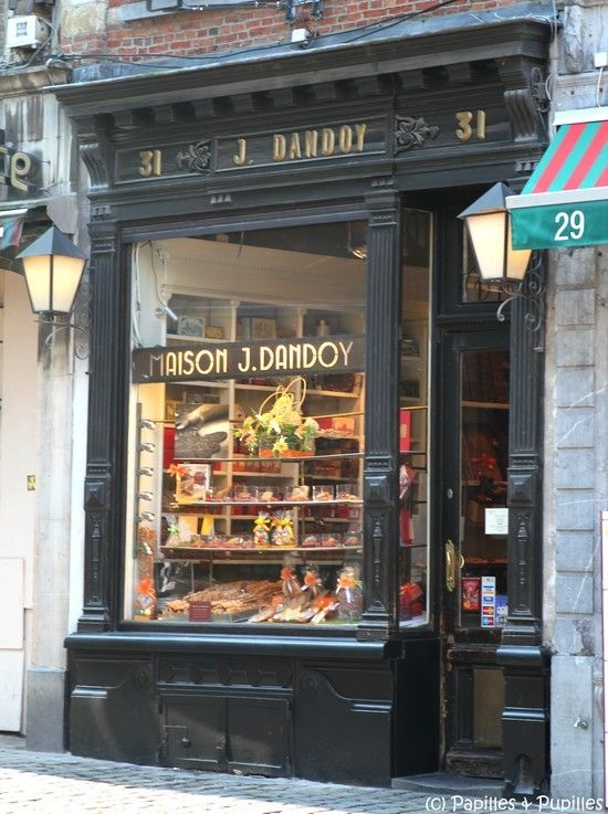 La biscuiterie Dandoy - rue au Beurre n31