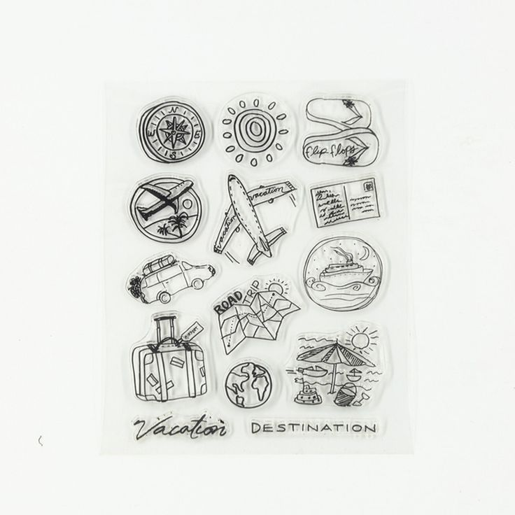Cheap stamp seal, Buy Quality silicone clear stamps directly from China clear stamps Suppliers: 1 Set/lot new Air Travel Transparent Silicone Clear Stamp Seal for DIY Scrapbooking/photo Album Decorative Clear Stamp Sheets.