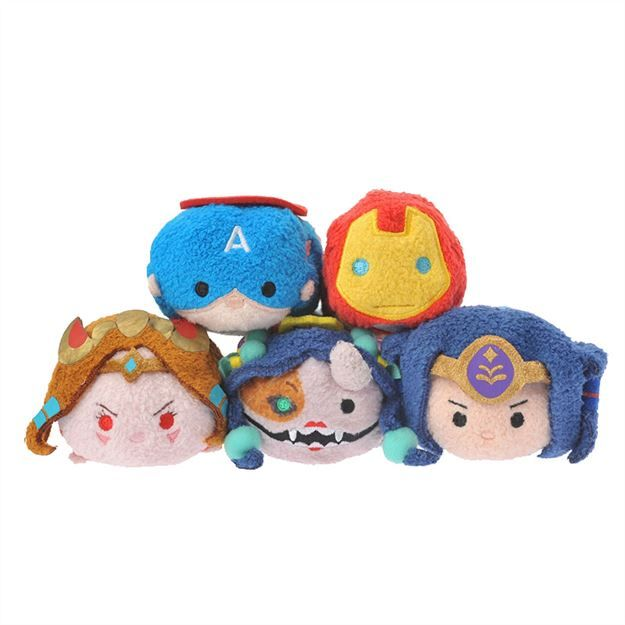 New Monster Strike Crossover Tsum Tsum set coming to the Japanese Disney Store October 7th!