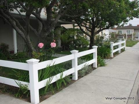 front yard fence idea                                                                                                                                                      More