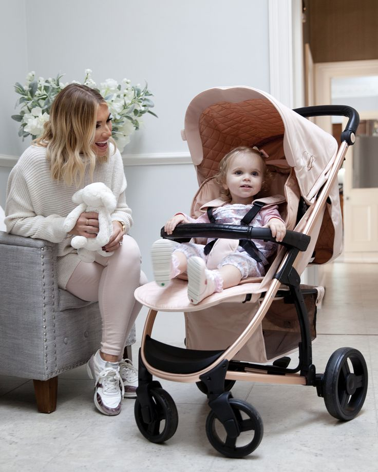 My Babiie Billie Faiers Rose Gold and Blush Pushchair
