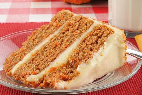 Grandma's Best Dairy-Free Carrot Cake - Serves 16 to 20