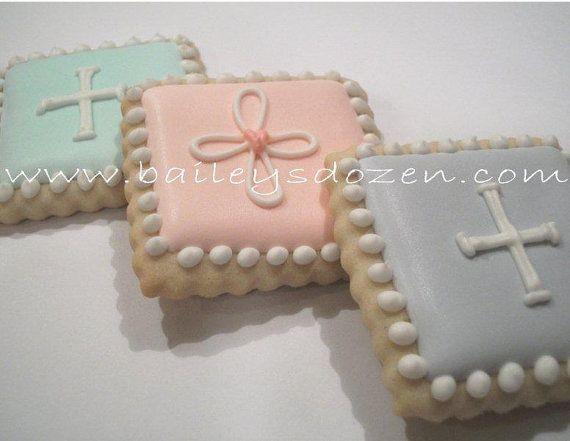 Baby Baptism Christening  Party Favors  Religious by Baileysdozen