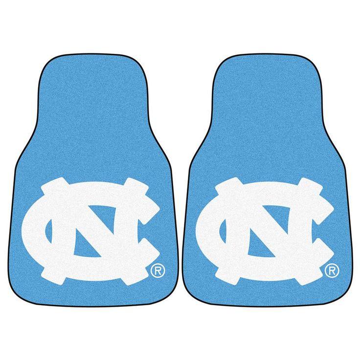 UNC - Chapel Hill NCAA Car Floor Mats (2 Front) NC Logo