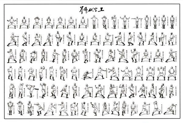 Tiger Style Kung Fu Gung ji fuk fu kyun has been | Fitness ...