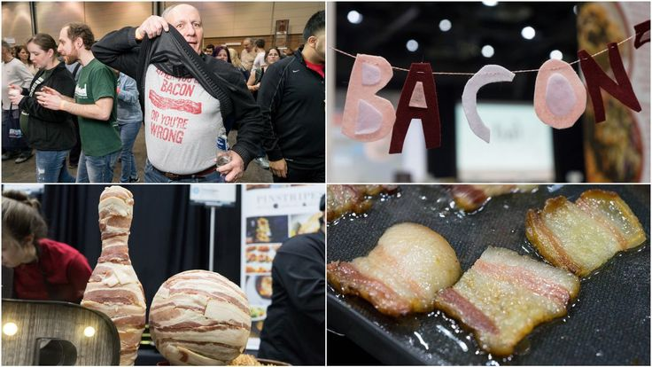 One night in the epicenter of bacon memes! #food #bacon #vintage #vogueteam #voguet #share