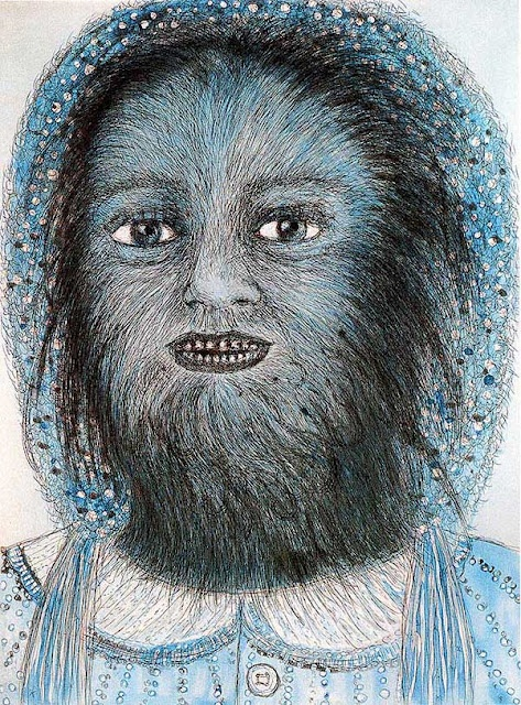 Kiki Smith, Wolf Girl