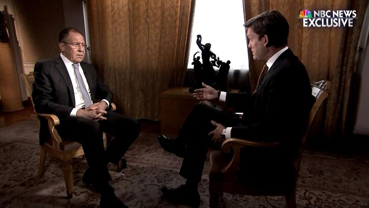 Russia's Foreign Minister Sergey Lavrov sat down with NBC News' Keir Simmons to discuss the relationship between President Putin and President Trump.