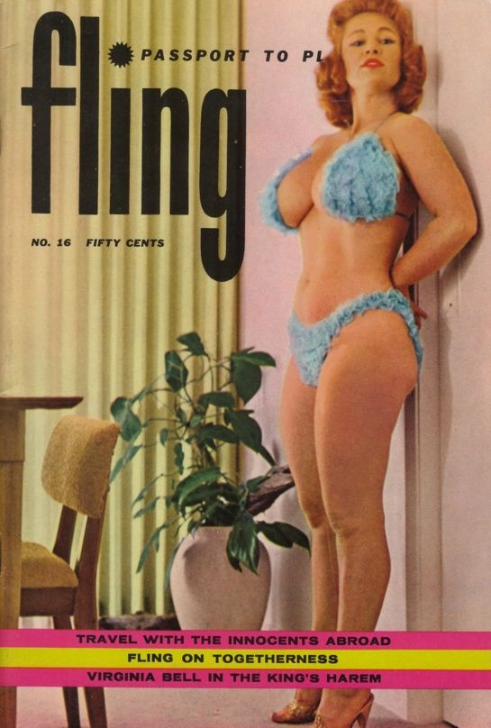 Fling Vintage Erotic Magazine  Old Magazines And Books Covers  Pinterest  Vintage And Magazines-5964