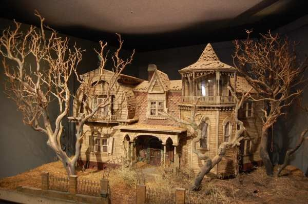 The Munsters house model for TV series Munsters Today .