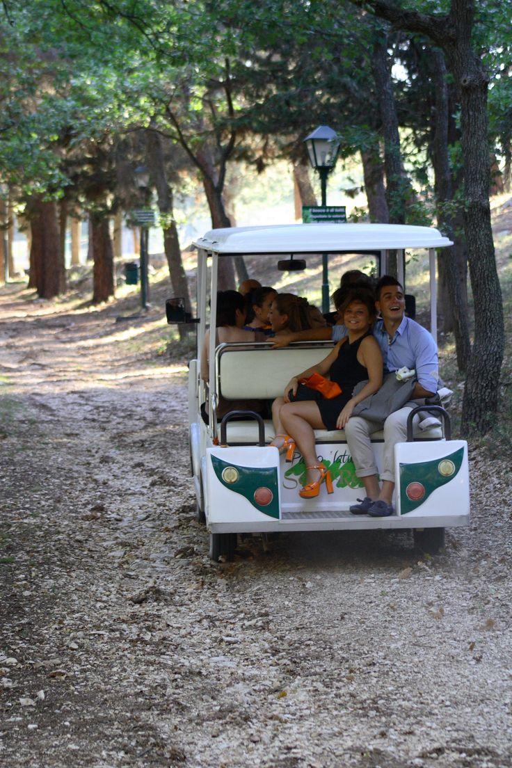 Wedding ecobus per andare alla scoperta della Natura www.selvareale.it