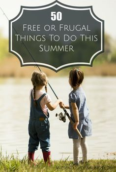 50 Free Or Frugal Things To Do This Summer  This list is a great place to start and create a fun filled afternoon, day or weekend for your whole family.  Use the things you have in your local community, or just on hand in your own home to make this summer an amazing adventure everyone in your family will remember for years to come.   Click through for some great ideas!!  amittenfullofsavings Frugal Summer Activities, Summer Kids Activities #summer