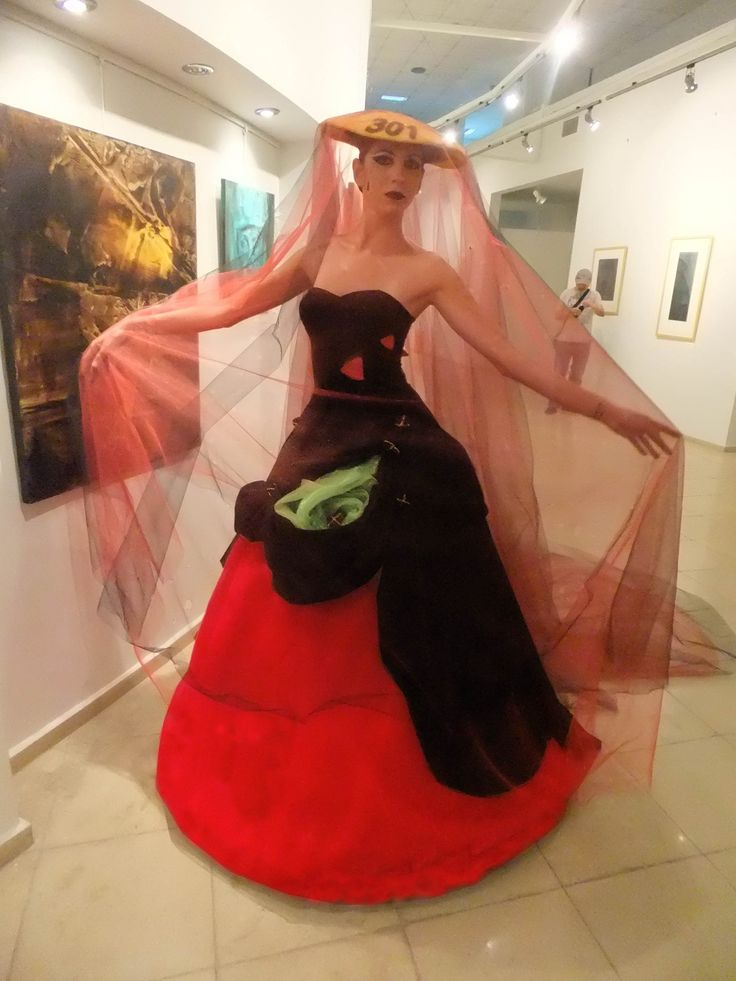 wedding dress , black, for the memory of 301  Turkish miners who died at explosion ..., coal