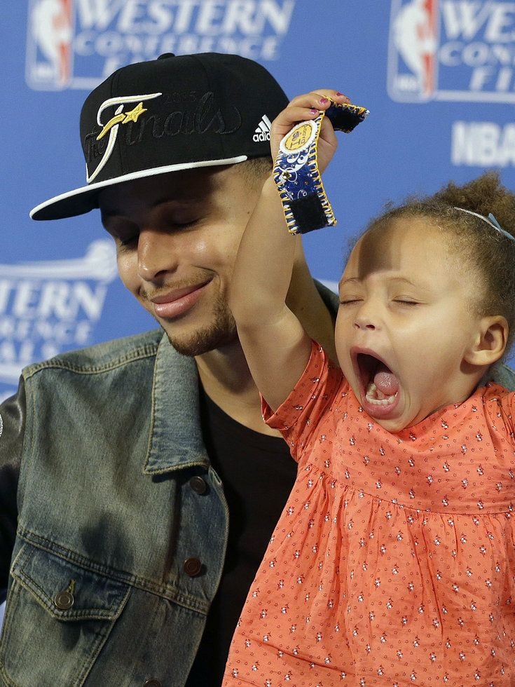 Riley Curry. :) Reminds me of me!