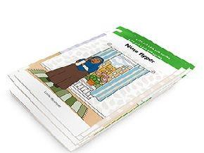 Lätt att läsa för vuxna - bokserie som funkar på 1A.