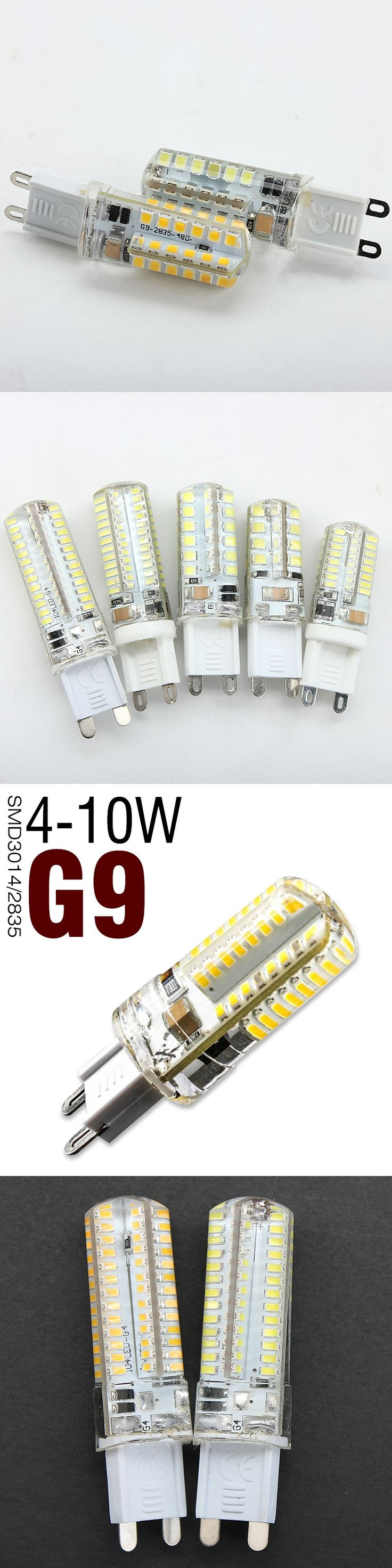 G9 LED Corn Bulb 32LEDs 48LEDs 64LEDs 96LEDs 104LEDs 220V SMD3014 LED Lamp Warm/Cold White Silicone Light Bulbs G9 LEDs Lighting