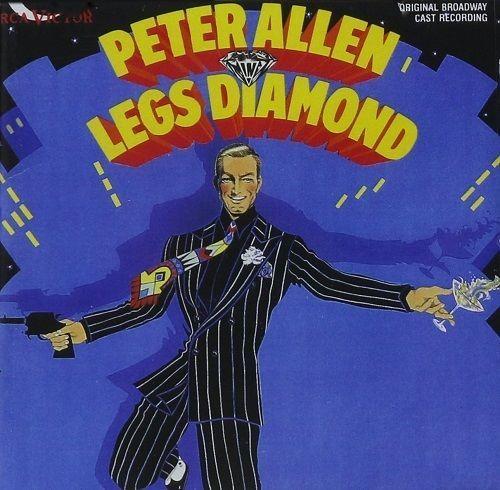 Peter Allen - Legs Diamond Original Broadway Cast CD 1989 RCA Victor