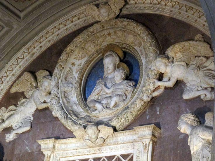Antonio e bernardo rossellino, tomba del cardinale del portogallo, 1446-50, 02 - Category:Cappella del Cardinale del Portogallo - Wikimedia Commons