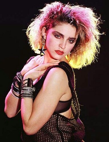 Madonna 80s. I had this poster on my wall when I was 8.