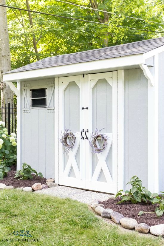 Superieur Garden Shed Makeover! Use These Outdoor Storage Shed Makeover Ideas To Add  Function And Charm To Your Garden. A Shed Doesnu0027t Have To Be An Eyesore!