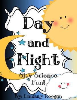 Have a day and night blast with your little scientists while learning all about the daytime and nighttime skies.