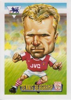 1996-97 Merlin's Premier League #1 Dennis Bergkamp Front