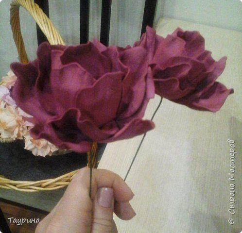 Свит-дизайн Моделирование конструирование МК полураскрытого цветка из фома для свит-дизайна и не только Фоамиран фом фото 1