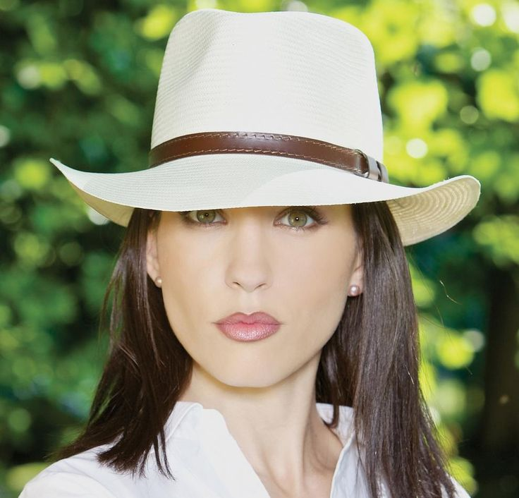 Chapeau panama femme (panama soft)