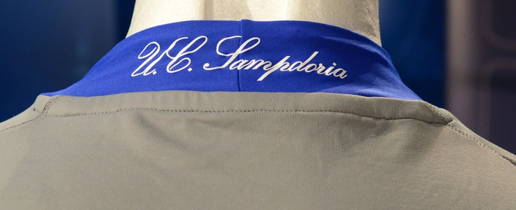 Detail U.C. Sampdoria New Kit Goalkeeper