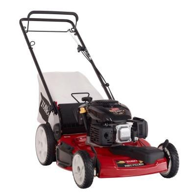 Toro REFURBISHED Recycler 22 in. High and Front Wheel Drive Variable Speed Self-Propelled Gas Lawn Mower $240.00 #TopRevews