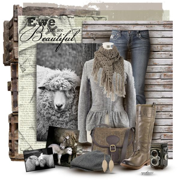Ewe Are Beautiful, created by cynthia335 on Polyvore