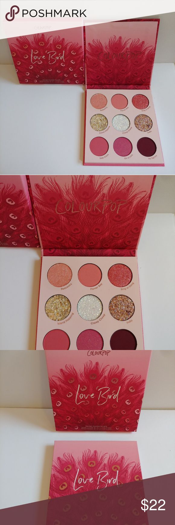 Colourpop Love Bird Eyeshadow Palette (With images