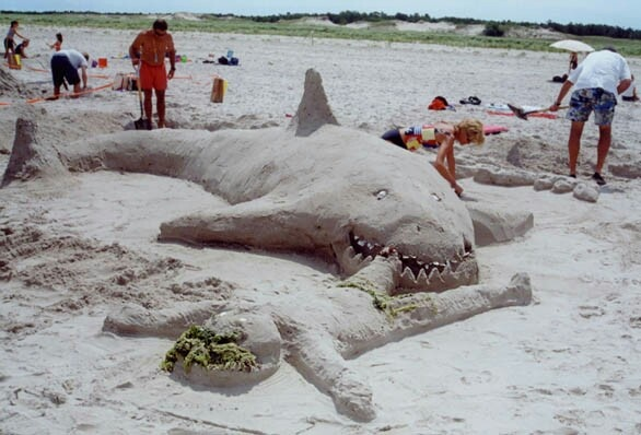 Now this is a sand sculpture