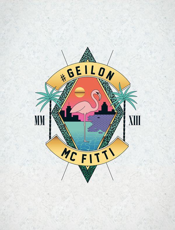 MC FITTI » #GEILON « Album Artwork by WE ARE BÜRO|BÜRO , via Behance