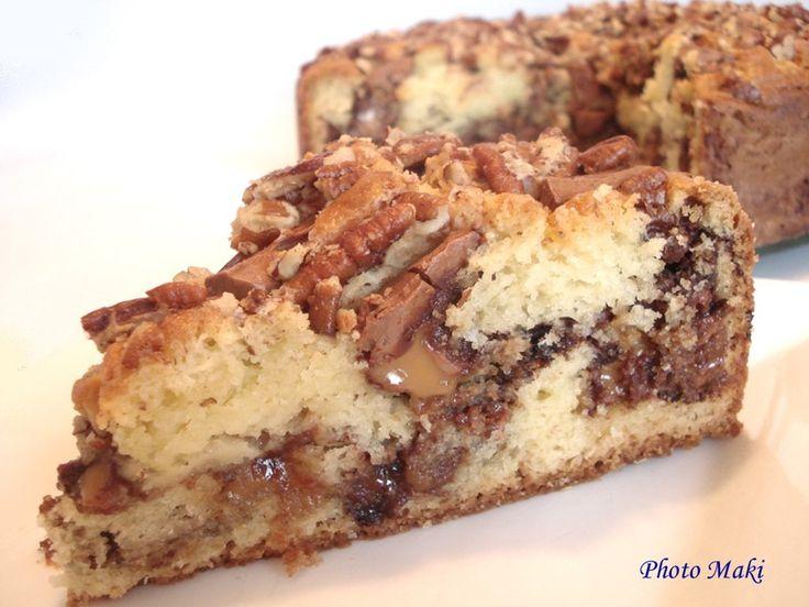 Gâteau Caramilk