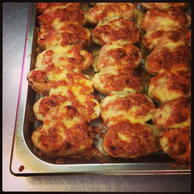 Stuffed Bolognese Potatoes