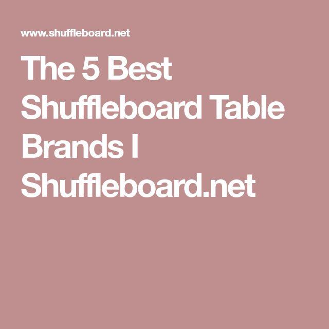 Best 25 Shuffleboard Table Ideas On Pinterest Used