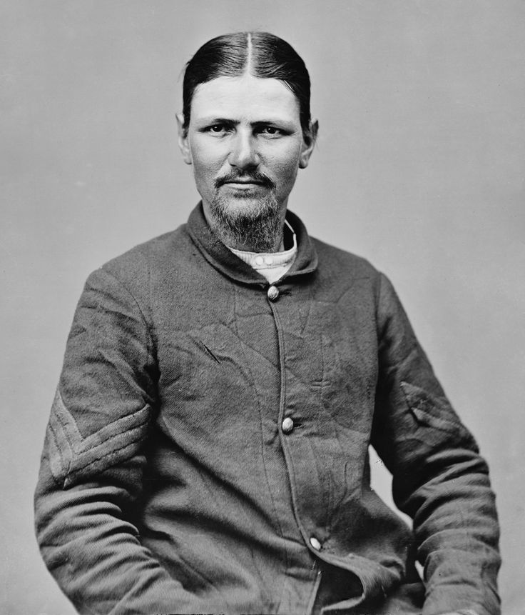 """BOOTH'S KILLER WAS MAD AS A HATTER: Boston Corbett, the Union Sergeant who shot and killed John Wilkes Booth, led a colorful and increasingly bizarre life.  After his wife died in 1858, he castrated himself to avoid temptations of the flesh.  He shot Booth against orders, stating """"Providence guided my hand"""".  After the war he returned to being a hatter, and his life spiraled downard.  After being sent to an asylum in 1888, he escaped to live in a cabin in the woods, where he disappeared."""