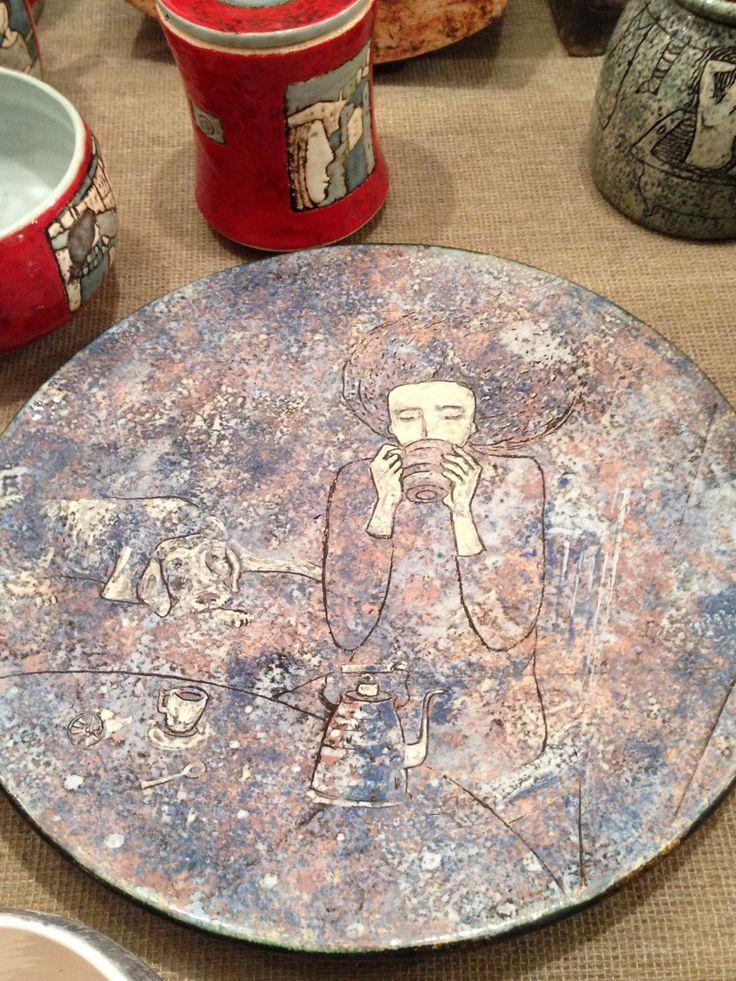 Ceramic artists of Ukraine. Керамика мастеров Украины. Александра Лебедкина; Alexandra Lebedkina; Евгений Сердюк; Evgeny Serdyukov