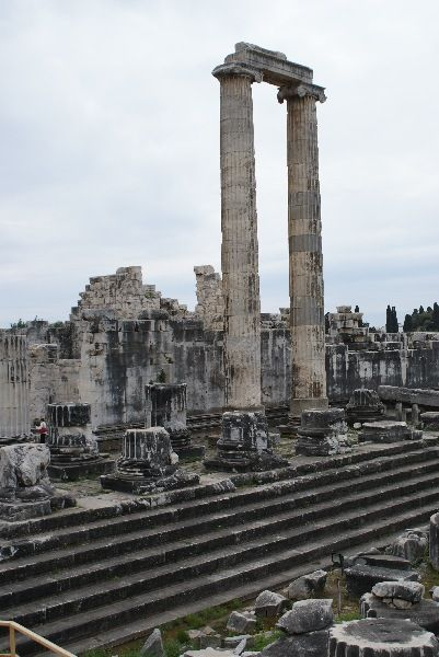 Didyma (/ˈdɪdɨmə/; Ancient Greek: Δίδυμα) was an ancient Greek sanctuary on the coast of Ionia. It contained a temple and oracle of Apollo, the Didymaion.