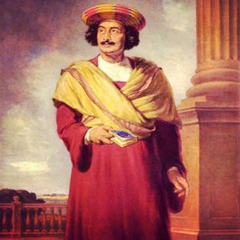 """Tributes to the social reformer & maker of """"Modern India"""" Raja Ram Mohan Roy ji on his death anniversary. Let us strive to follow his footsteps. #harsimratkaurbadal #akalidal #foodprocessing"""