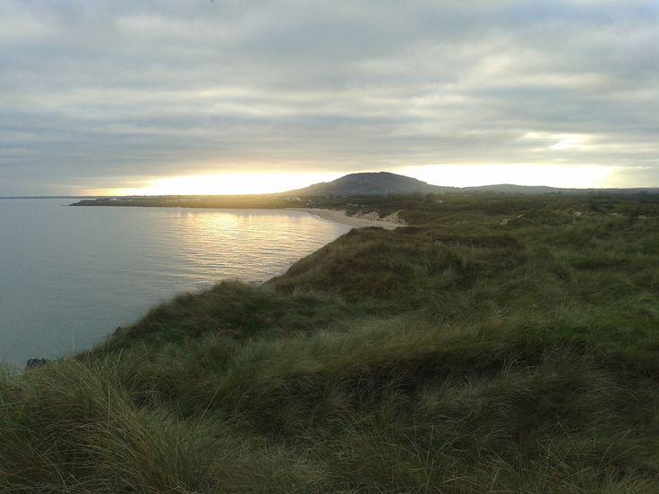 Tara Hill facing towards Gorey taken from Kilpatrick beach near Castletown by Joe Bergin