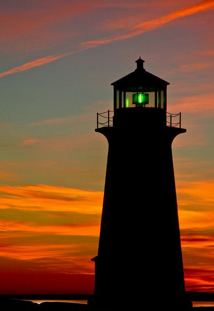 Good Night at Peggy's Cove by TPorter2006, via Flickr