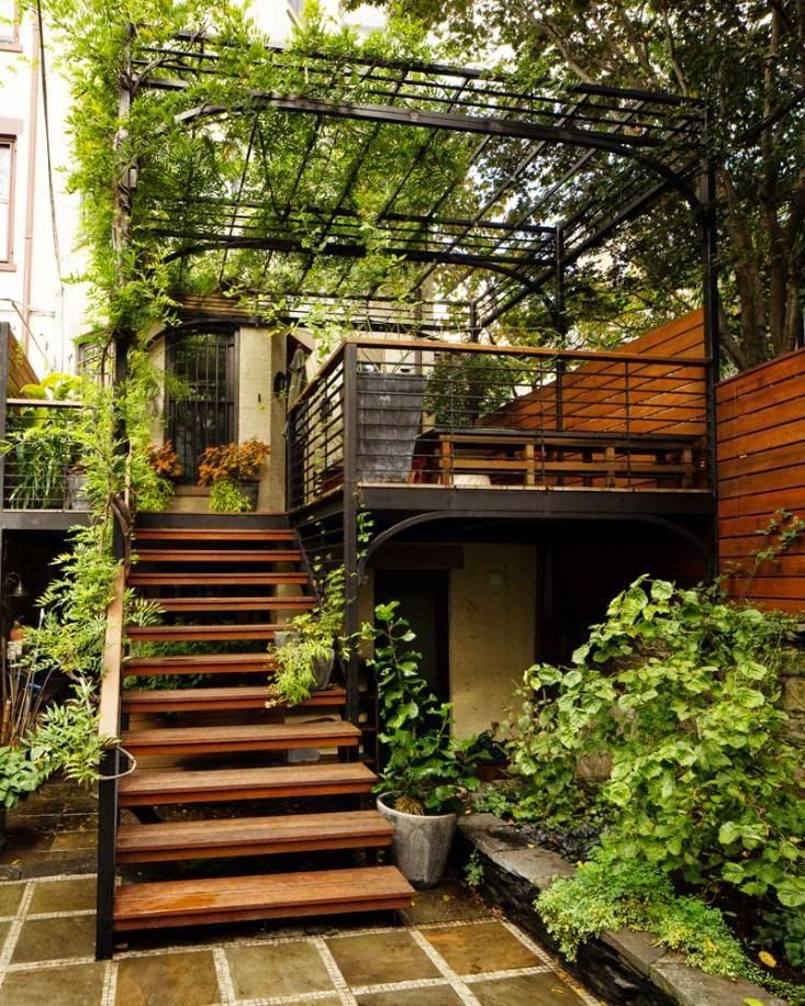 outdoor stairs designs that heighten the beauty of your exteriors