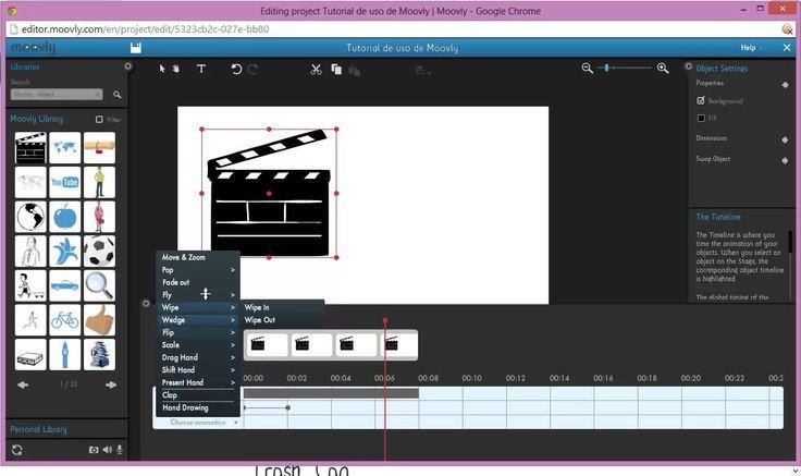 Videotutorial MOOVLY: herramienta para crear #videos animados, presentaciones animadas o anuncios  #videocv