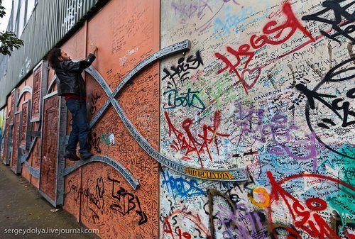 Белфаст граффити