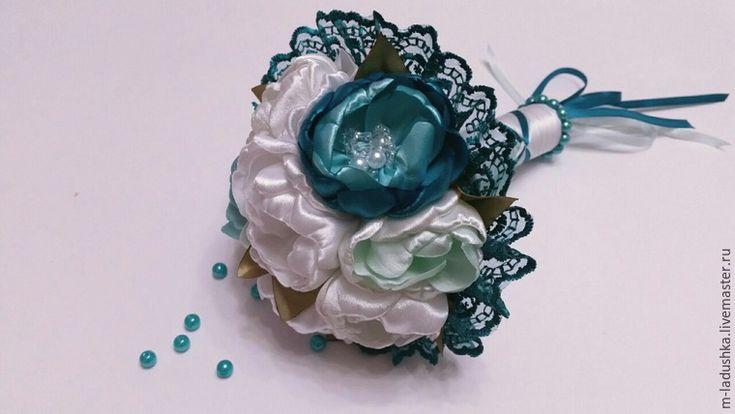 Создаем букет невесты при помощи резинок для волос - Ярмарка Мастеров - ручная работа, handmade