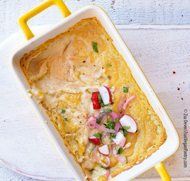 Zsu's Vegan Pantry: vegan baked chèvre cheese dip