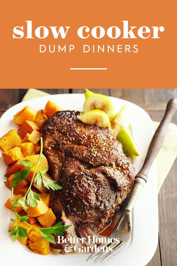 19 Dump And Done Slow Cooker Recipes Slow Cooker Recipes Slow Cooker Dishes Crockpot Dinner